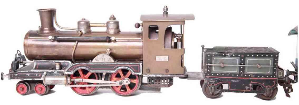 marklin maerklin e 4021 railway toy engine spirit steam locomotive brass gauge 1