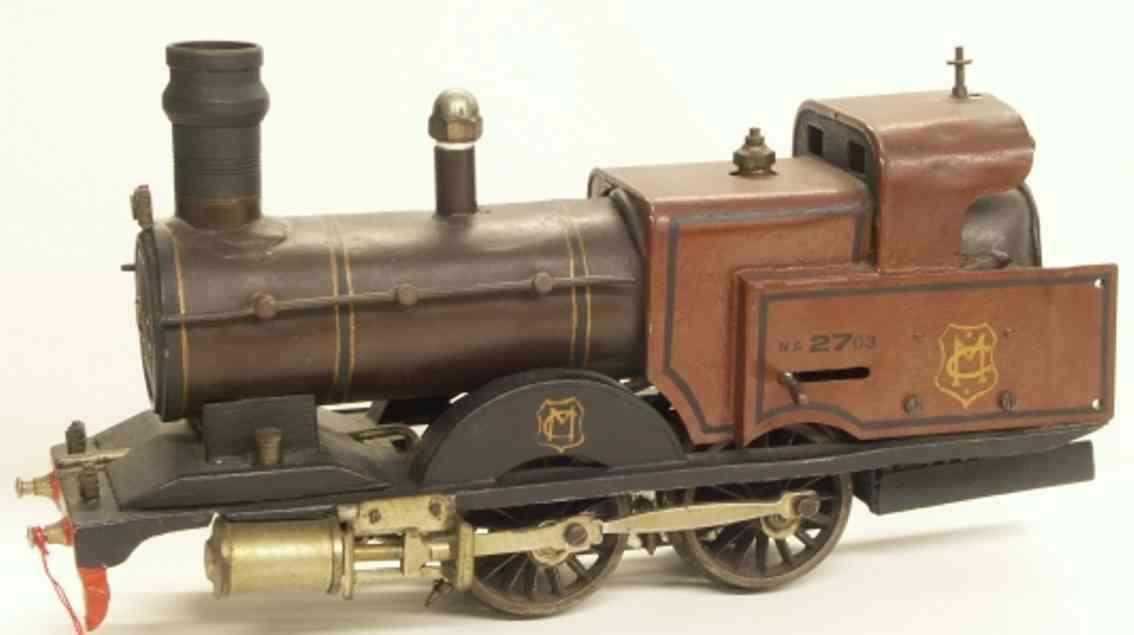 marklin maerklin e 4021 mr toy engine english spirit dragging tender locomotive gauge 1
