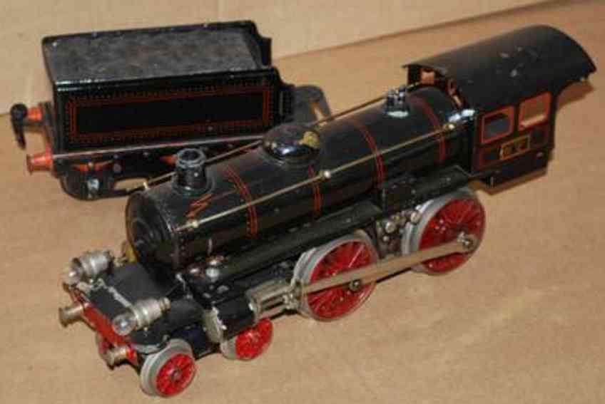 marklin maerklin e 65/13041 railway toy engine 20 volt steam locomotive black gauge 1