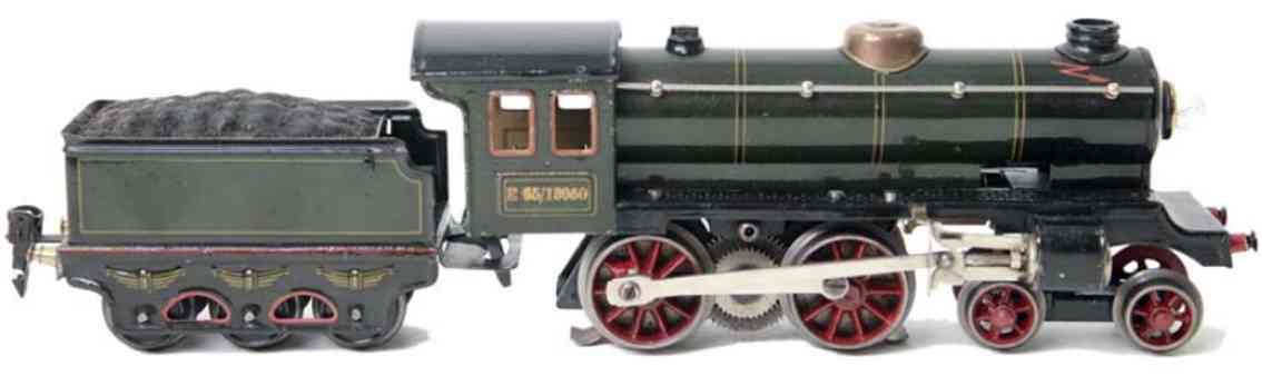 marklin maerklin e 65/13050 railway toy engine electric locomotive tender green gauge 0