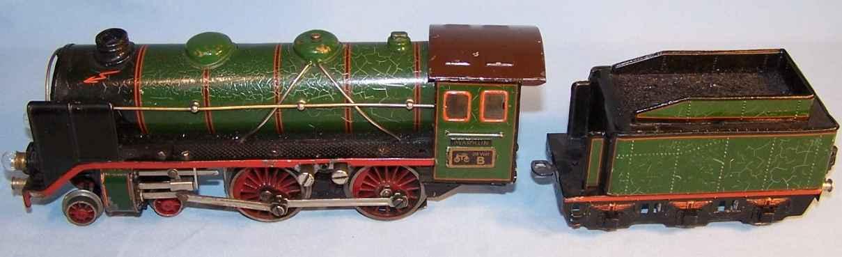 marklin maerklin e 66/12920 railway toy engine steam locomotive gauge 0