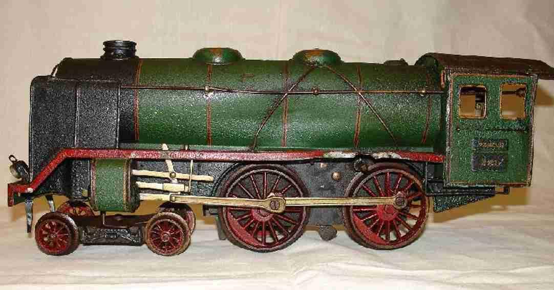 marklin maerklin e 921 railway toy engine clockwork steam locomotive green black gauge 1