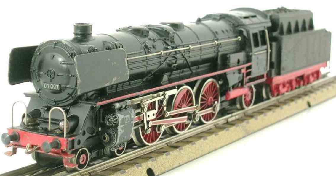 maerklin f 800-2 spielzeug eisenbahn schnellzugdampflokomotive schwarz spur h0
