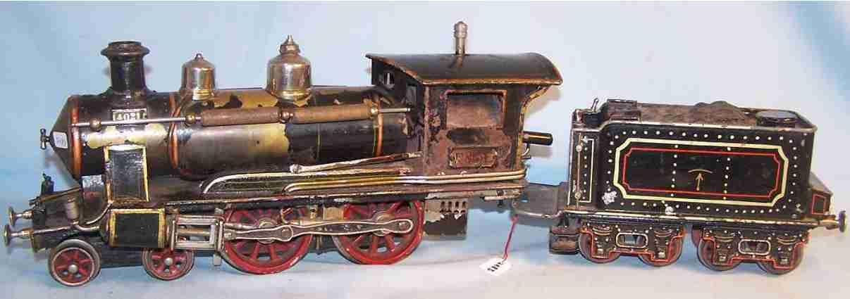 marklin maerklin fe 4021 dragging tender steam locomotive gauge 1