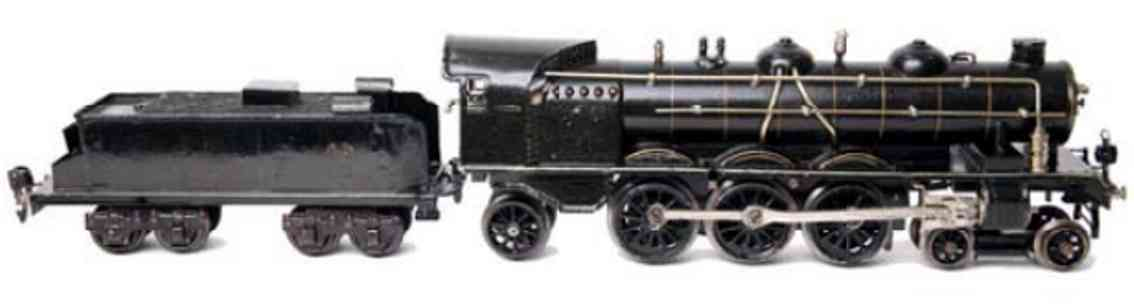 marklin maerklin h 1020 railway toy engine clockwork steam locomotive black gauge 0