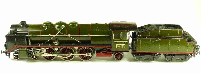 maerklin hr 66/12920 eisenbahn 20-volt dampflokomotive schwarz spur 0
