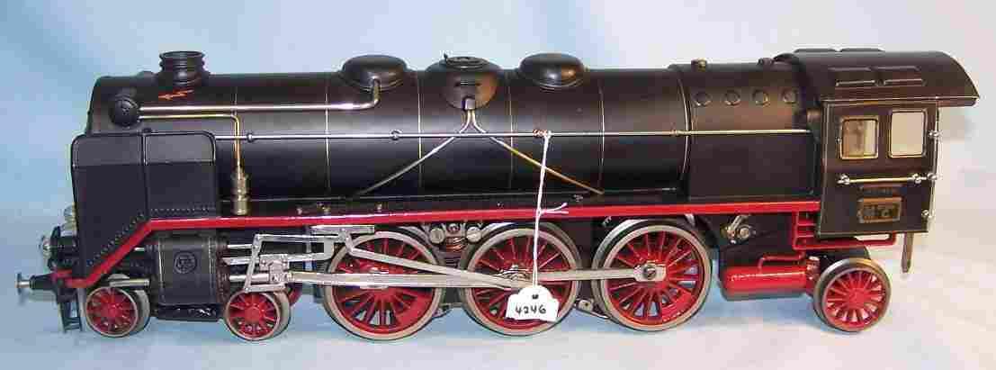 maerklin hr 66/12921 spielzeug eisenbahn 20-volt dampflokomotive schwarz spur 1