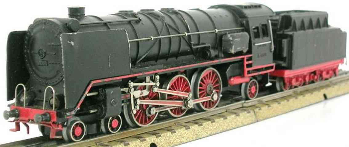 maerklin hr 800-1 spielzeug eisenbahn dampflokomotive tender schwarz spur h0