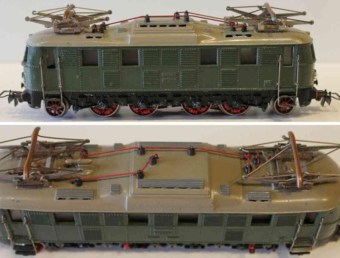 maerklin ms 800-4 spielzeug eisenbahn elektrolokomotive gruen spur h0