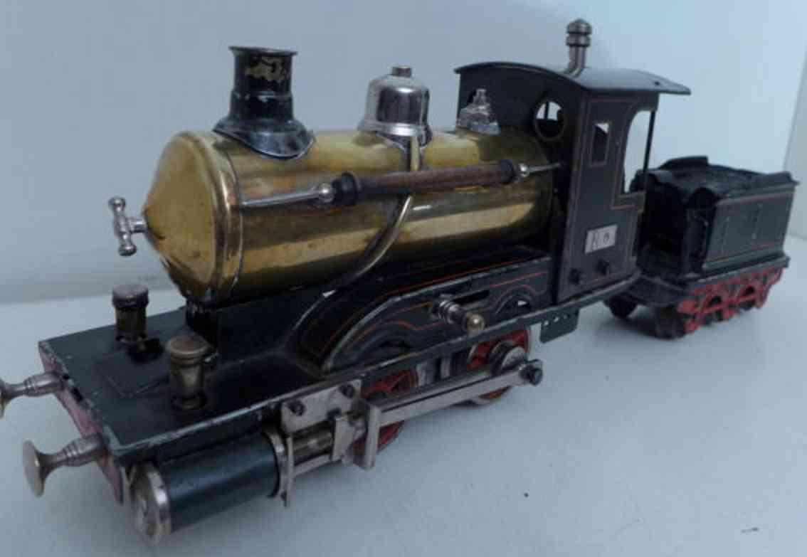 maerklin spielzeug eisenbahn spiritus-schlepptenderdampflokomotive spur 0