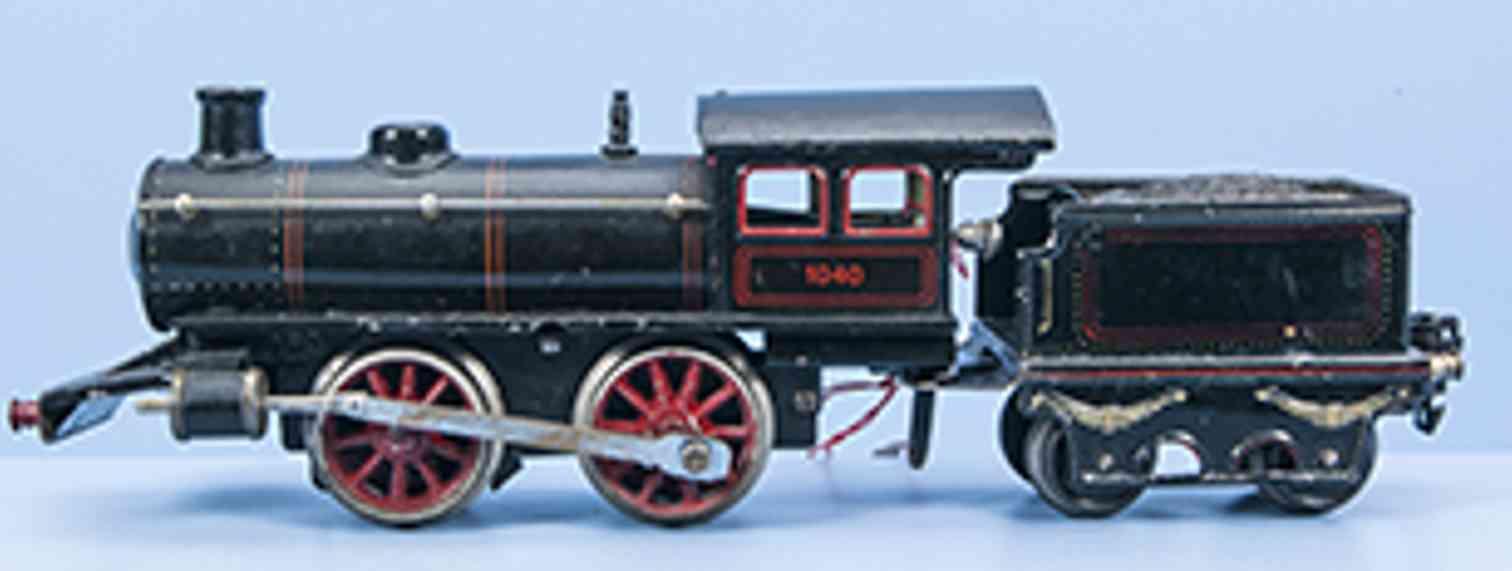 marklin maerklin r 1040 1919 railway toy engine clockwork steam locomotive gauge 0