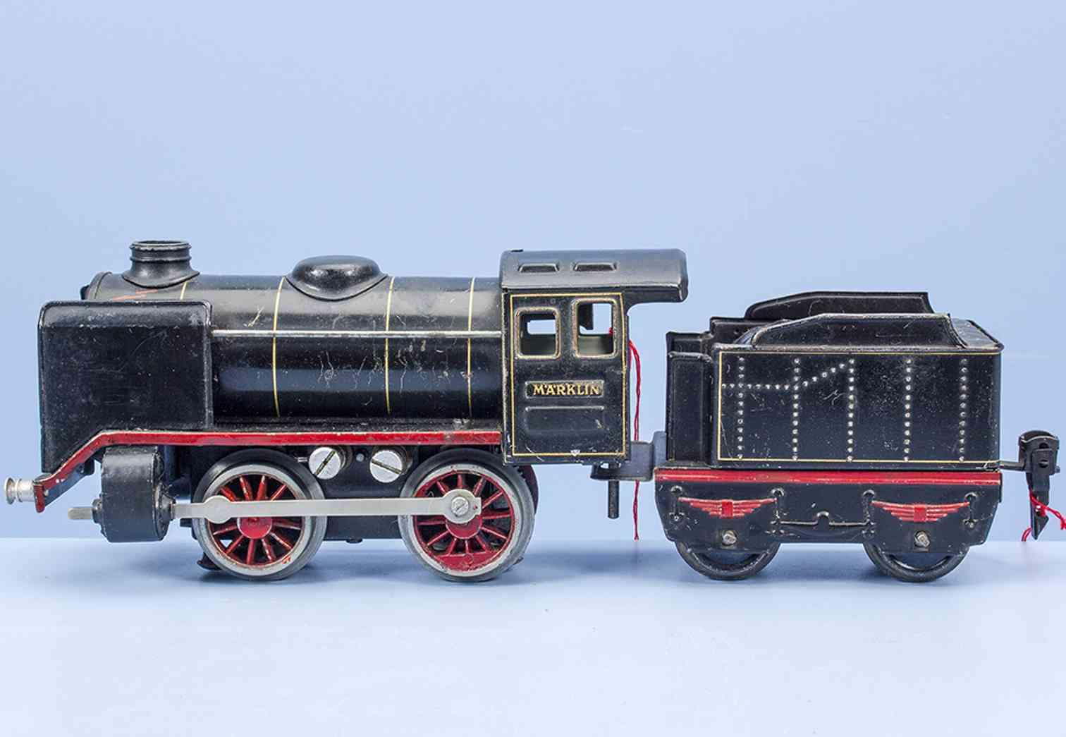maerklin r 12880 elektrische 20 volt dampflokomotive tender schwarz spur 0