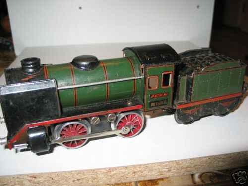 maerklin r 12880 eisenbahn 20-volt dampflokomotive spur 0