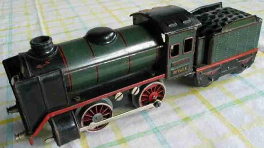 maerklin r 12880 spielzeug elektrische 20 volt dampflokomotive tender blau sur 0