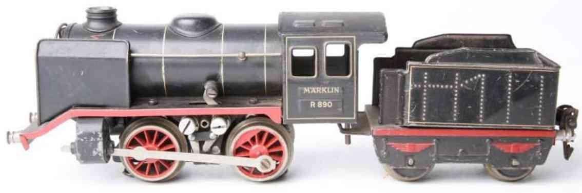 maerklin r 12890 spielzeug eisenbahn 20 volt dampflokomotive tender schwarz spur 0