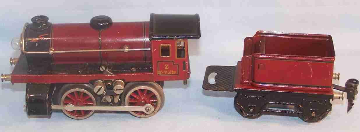 maerklin r 12970 n spielzeug eisenbahn dampflokomotive rot schwarz spur 0