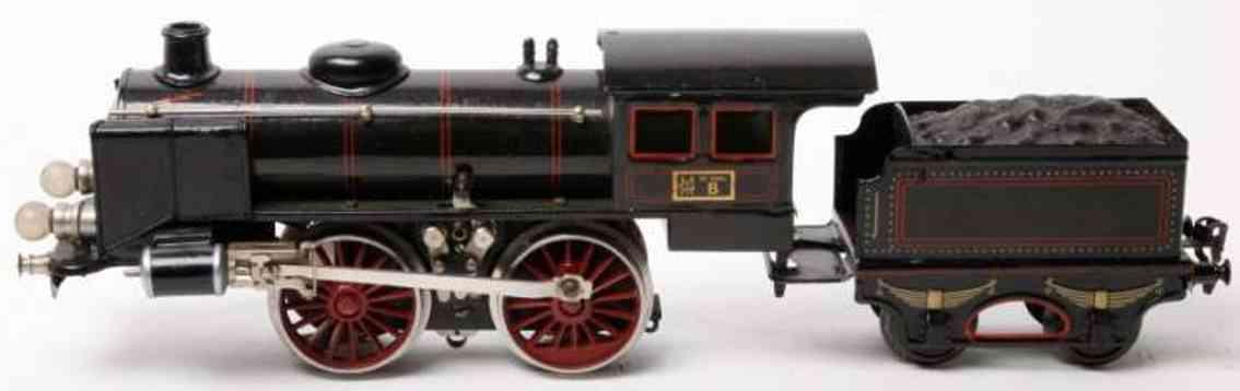 maerklin r 13041 eisenbahn 20 volt-dampflokomotive schwarz spur 1
