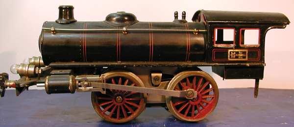maerklin r 3141 spielzeug eisenbahn schwachstrom dampflokomotive schwarz spur 1