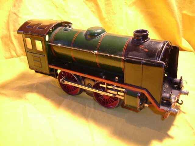 maerklin r 66/12921 spielzeug eisenbahn dampflokomotive 20 volt gruen schwarz spur 1