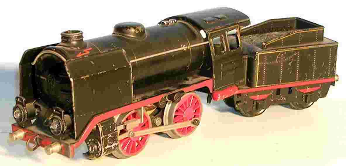 maerklin r 66/12910 spielzeug eisenbahn 20-volt dampflokomotive schwarz spur 0