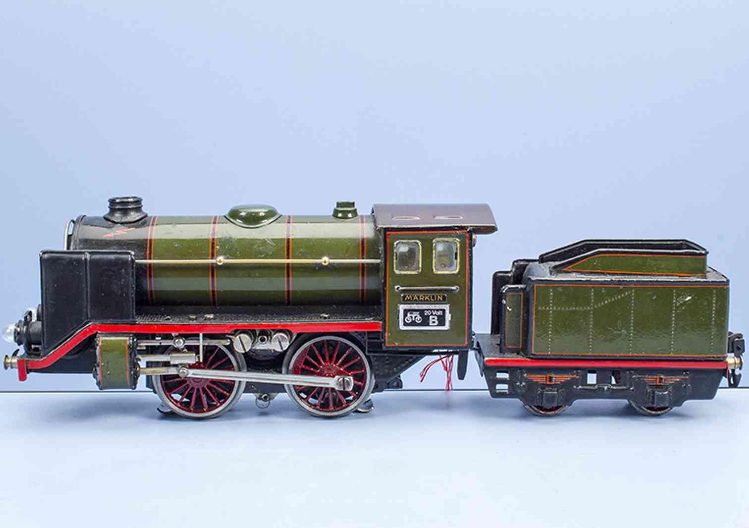 maerklin r 66/12920 1934 spielzeug eisenbahn 20 volt dampflokomotive spur 0