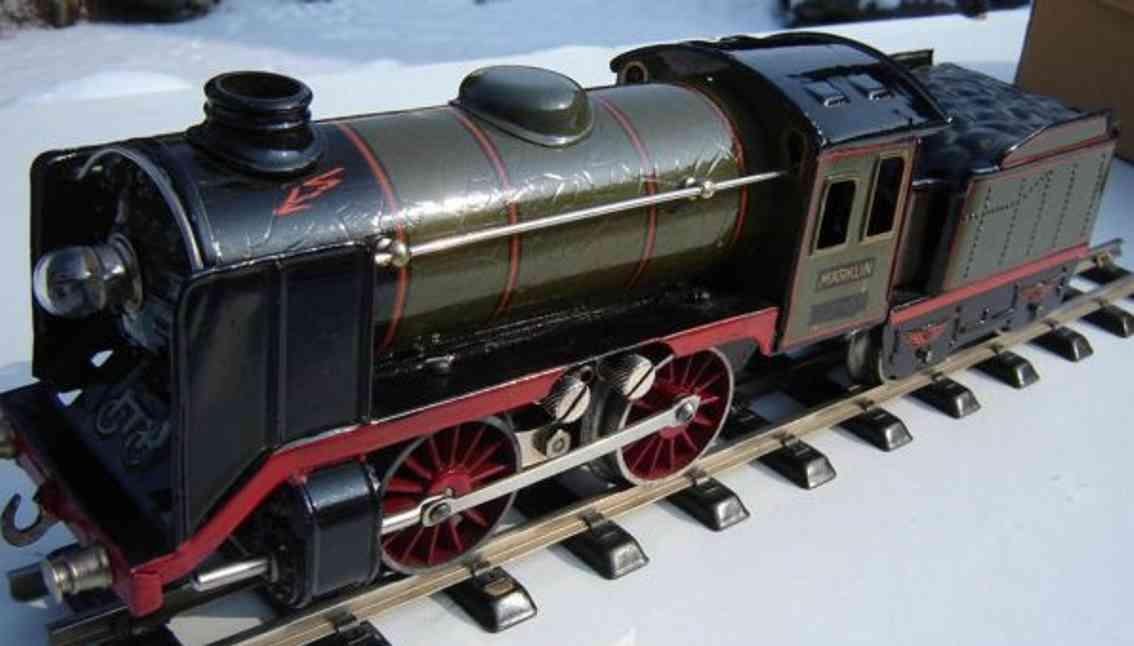 maerklin r 66/12900 spielzeug 20 volt dampflokomotive olivgruen spur 0
