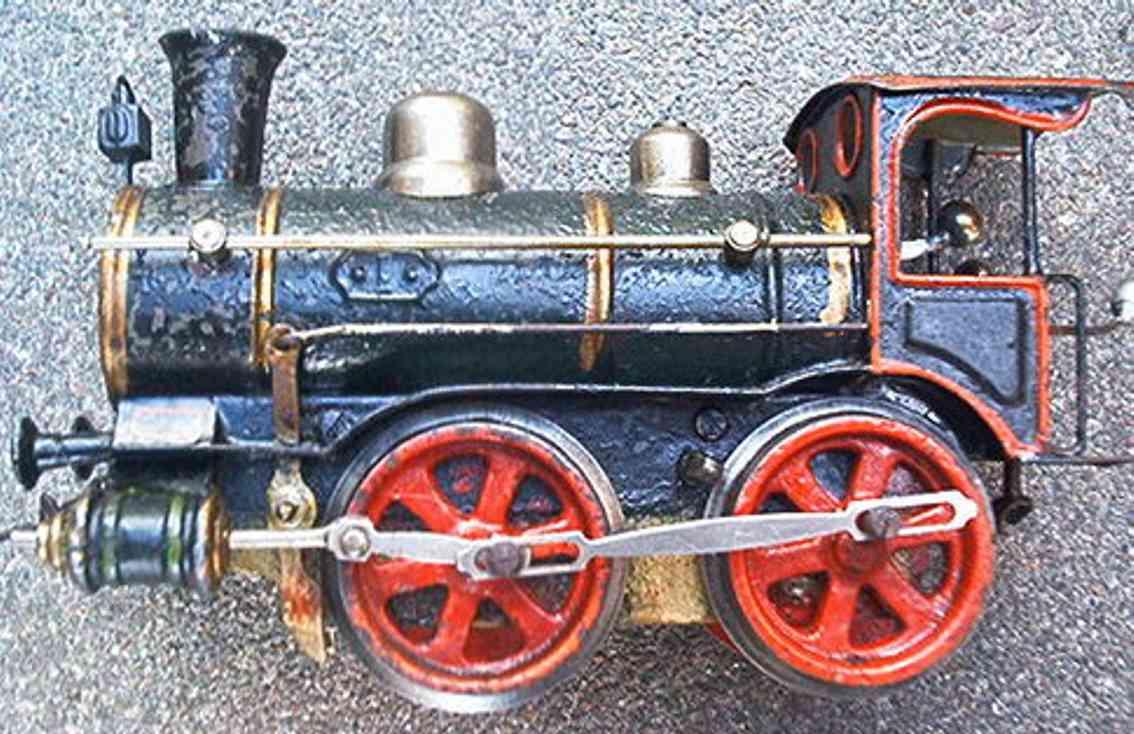 marklin maerklin rnn 1021 railway toy engine clockwork steam locomotive gauge 1