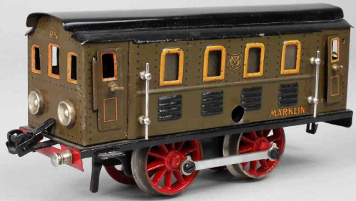 marklin maerklin rs 1050 railway toy engine full-railway clockwork locomotive brown gauge 0