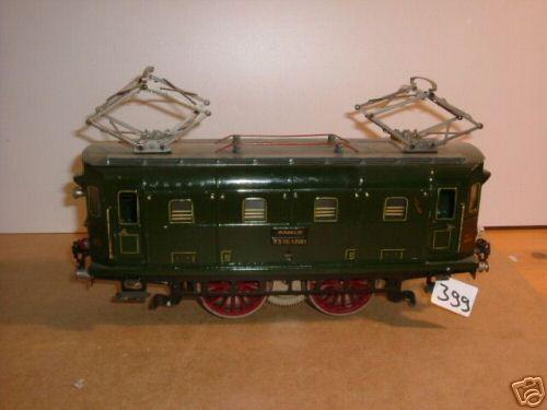 maerklin rs 66/12921 spielzeug eisenbahn 20-volt vollbahnlokomotive gruen spur 1