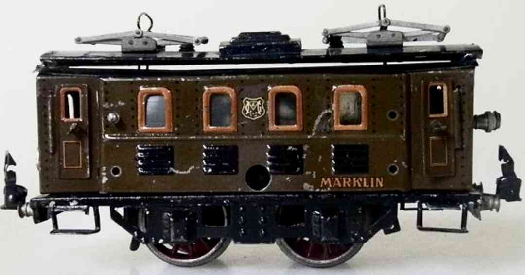 maerklin rs 950 spielzeug eisenbahn uhrwerk-elektrolokomotive braun spur 0