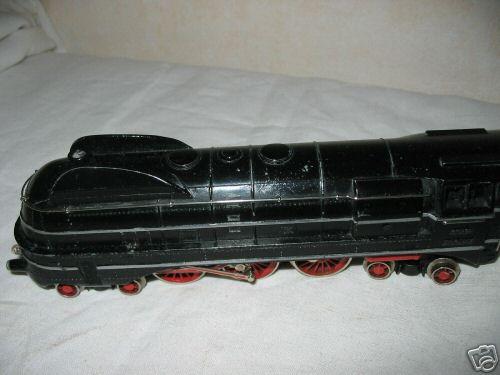 maerklin sk 800/3007 spielzeug eisenbahn dampflokomotive schwarz spur h0