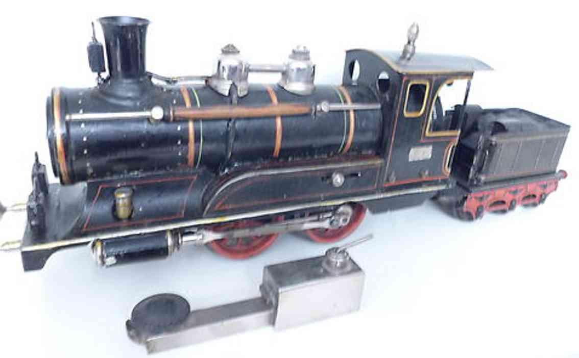 maerklin spielzeug eisenbahn spiritus-dampflokomotive schwarz spur 1
