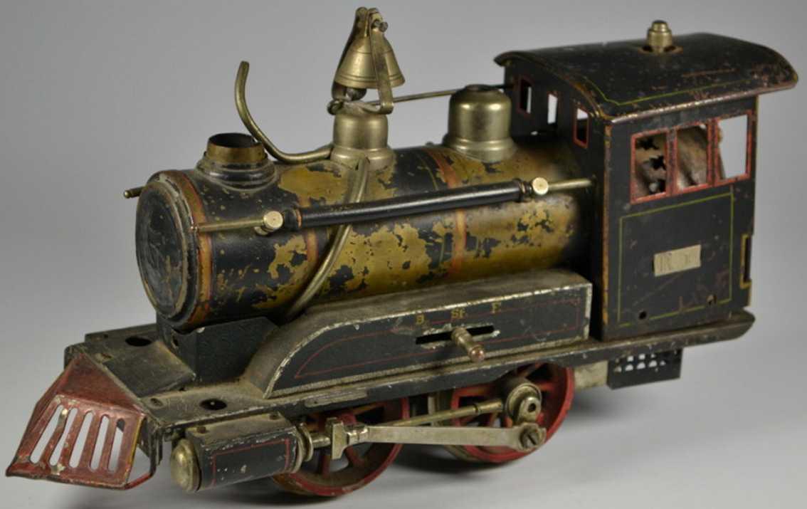 maerklin spielzeug eisenbahn spiritusdampflokomotive