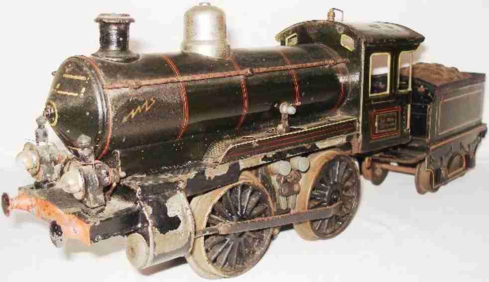 maerklin spielzeug eisenbahn starkstrom-dampflokomotive schwarz spur 1