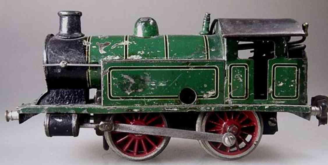 maerklin t 1030 spielzeug eisenbahn tenderdampflokomotive gruen schwarz spur 0