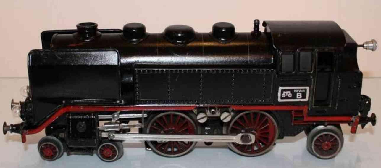 maerklin tce 66/12920 eisenbahn tenderlokomotive mattschwarz spur 0