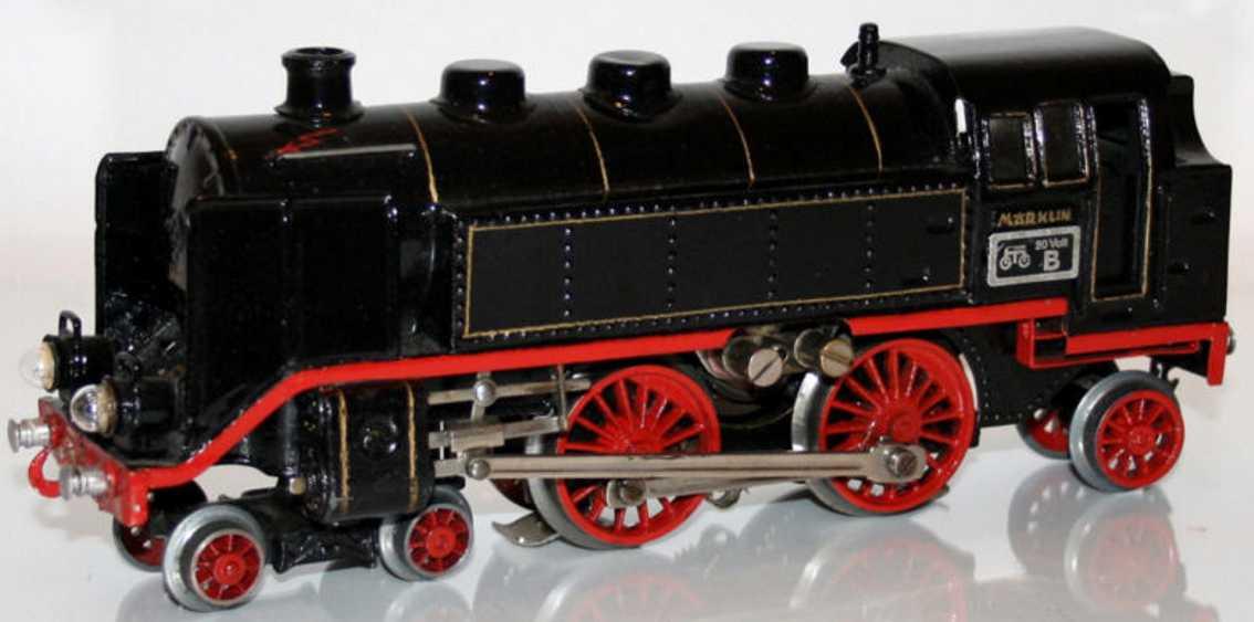 maerklin tce 70/12920 spielzeug eisenbahn 20 volt dampflokomotive schwarz spur 0
