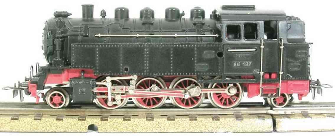 maerklin tt 800 spielzeug eisenbahn dampflokomotive spur h0