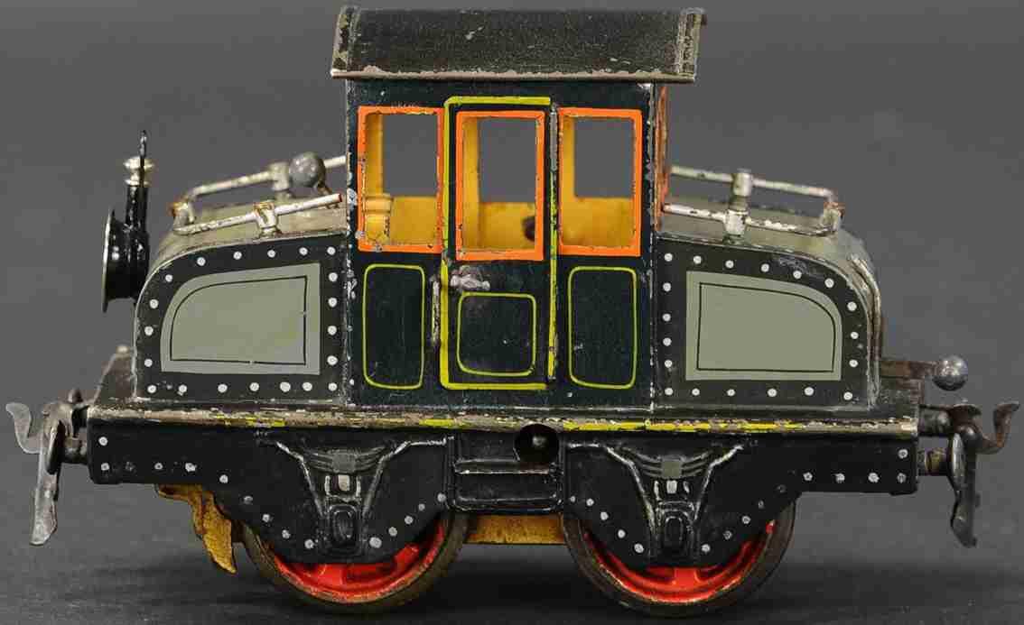 maerklin v 1021 1909 spielzeug eisenbahn englische vollbahnlokomotive  1 laterne spur 1