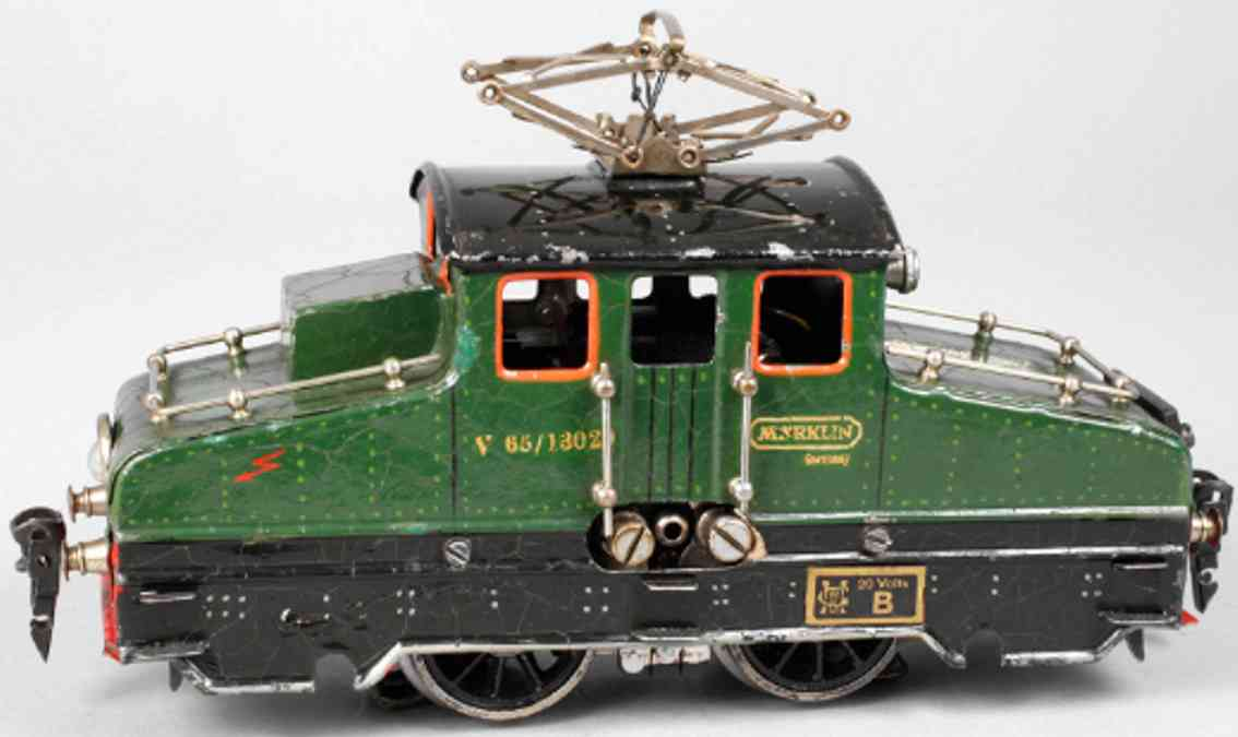 marklin maerklin v 65/13020 railway toy engine electric locomotive green black gauge 0