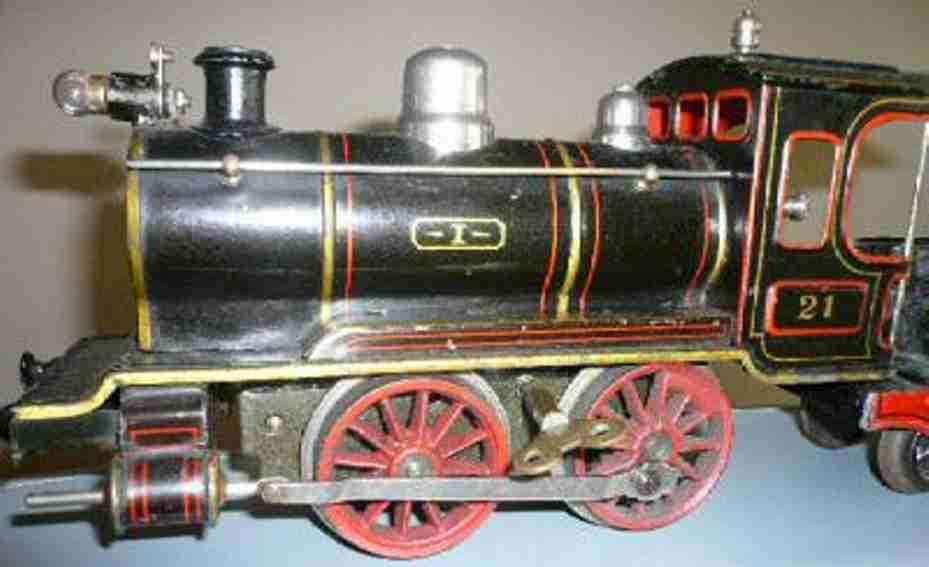 maerklin spielzeug eisenbahn uhrwerk-dampflokomotive