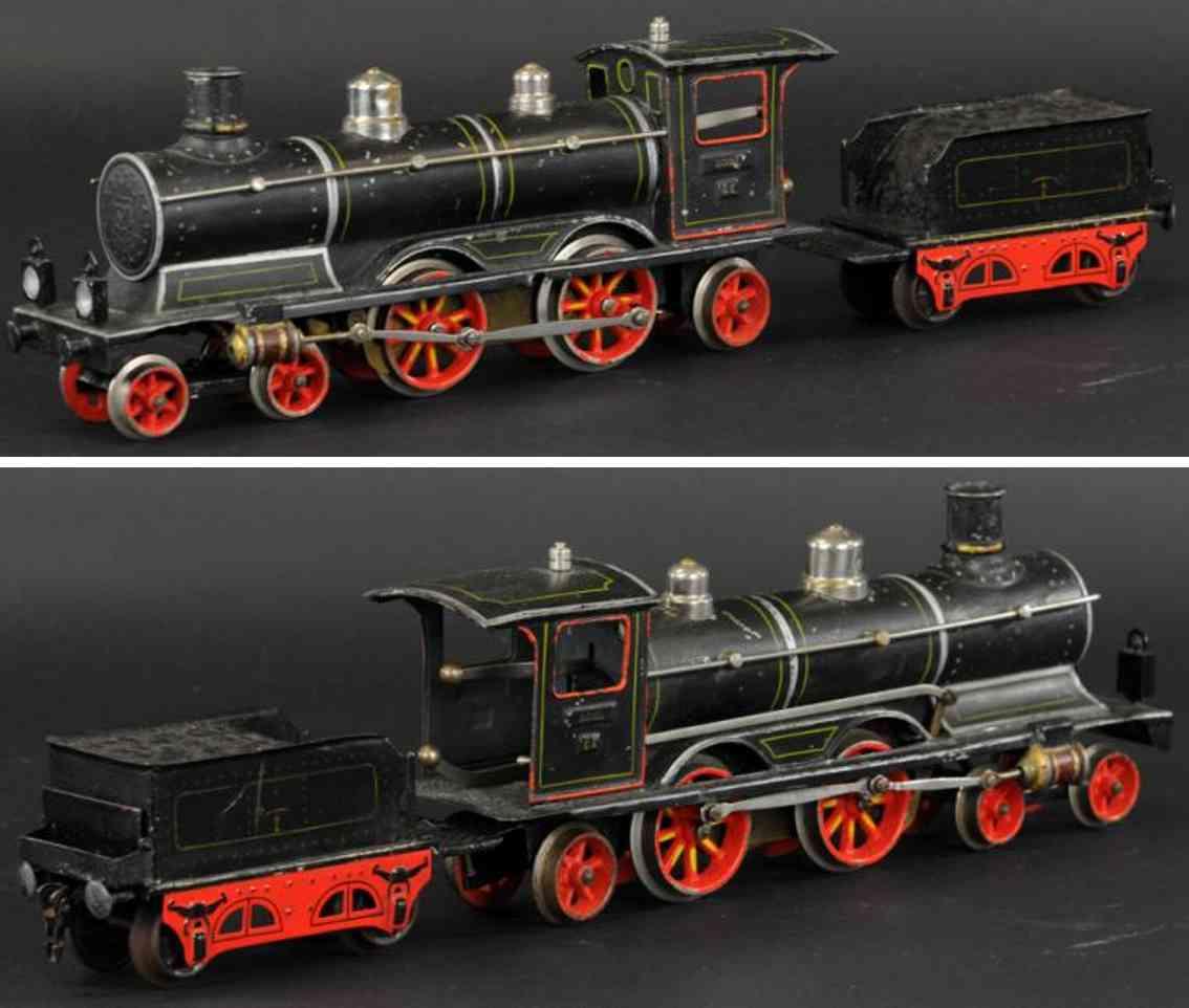 marklin maerklin ce 1021 railway toy engine locomotive tender gauge 1