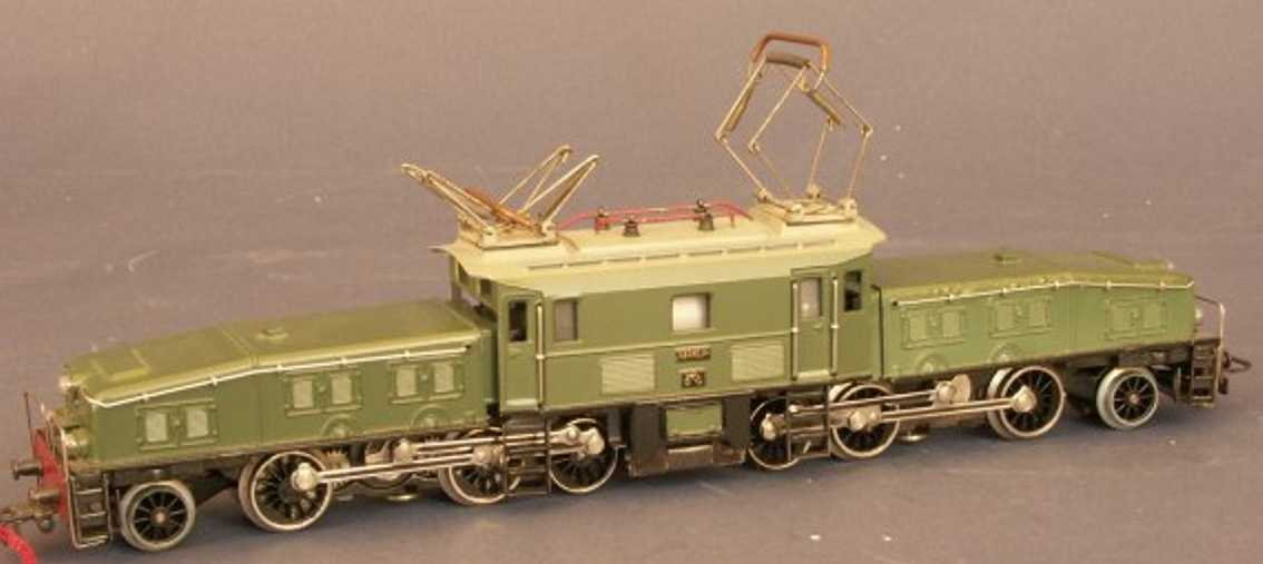 marklin maerklin ccs 800-3 railway toy engine electric locomotive crocodile green gauge h0
