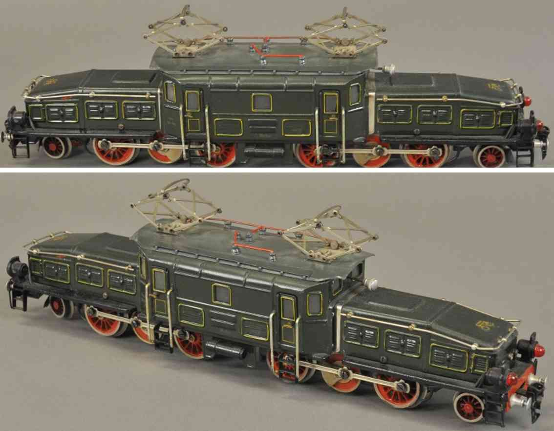 maerklin ccs 66/12920 spielzeug eisenbahn lokomotive 20 volt krokodil  gruen spur 0