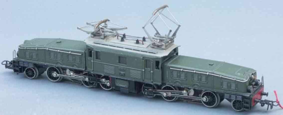 maerklin ccs 800-6 spielzeug eisenbahn elektrolokomotive krokodil olivgruen spur h0
