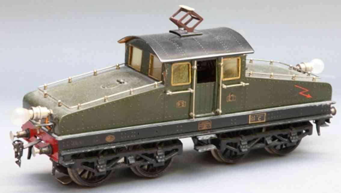 marklin maerklin cl 64/13021 railway toy engine french 20 volt full railway locomotive  green gauge 1