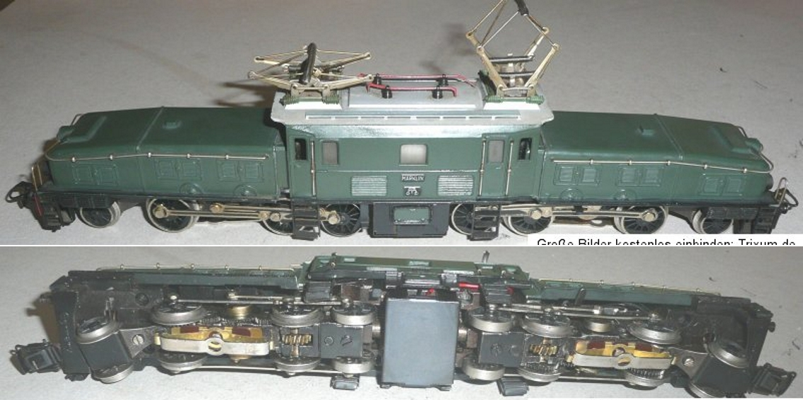 maerklin css 800-9 spielzeug eisenbahn lokomotive krokodil sbb spur h0