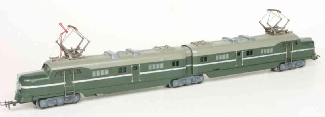 maerklin DL 800-2 spielzeug eisenbahn doppel-elektrolokomotive gruen spur h0