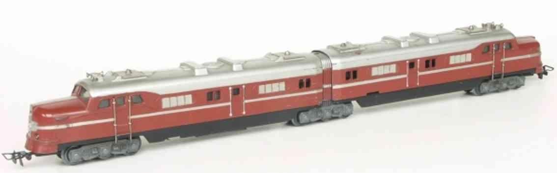 maerklin DL 800-5 spielzeug eisenbahn doppel-elektrolokomotive braun spur h0