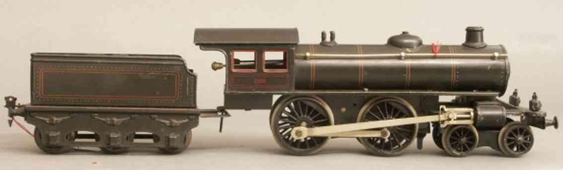 maerklin e 1041 spielzeug eisenbahn uhrwerk schlepptenderlokomotive schwarz spur 1
